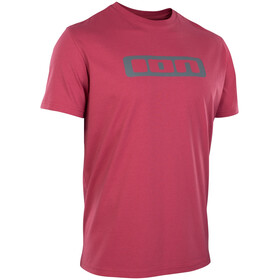 ION Logo T-shirt Heren, firing red
